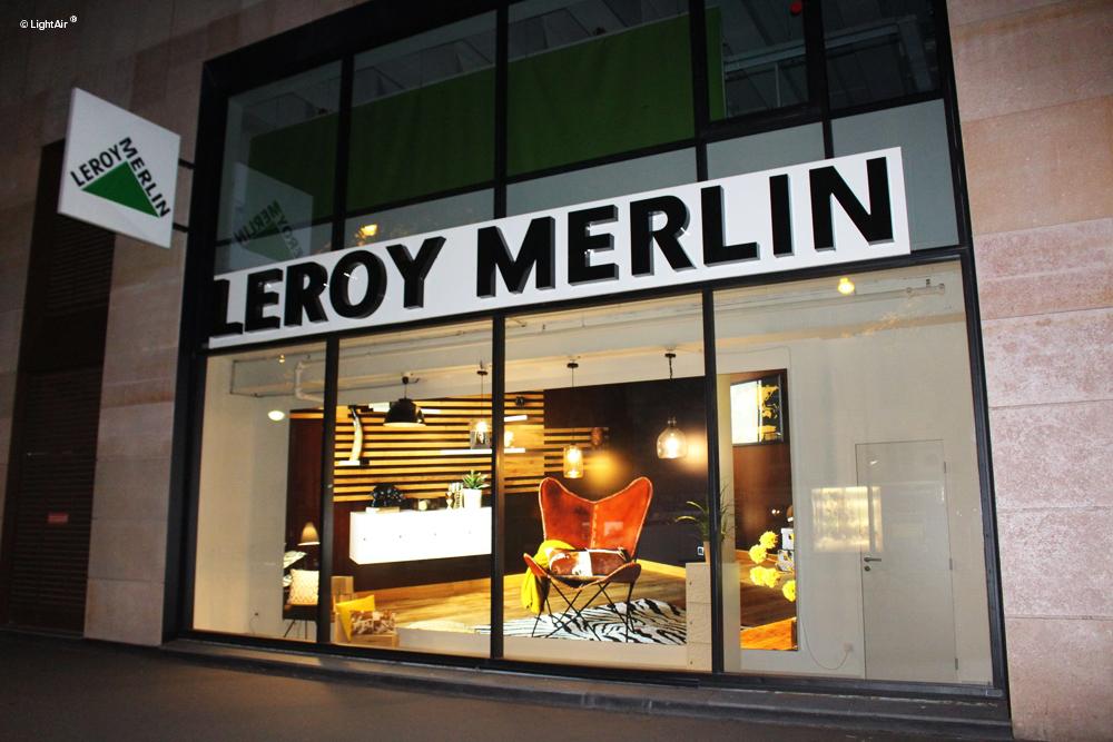 Aménagement Communicant Leroy Merlin Paris Daumesnil